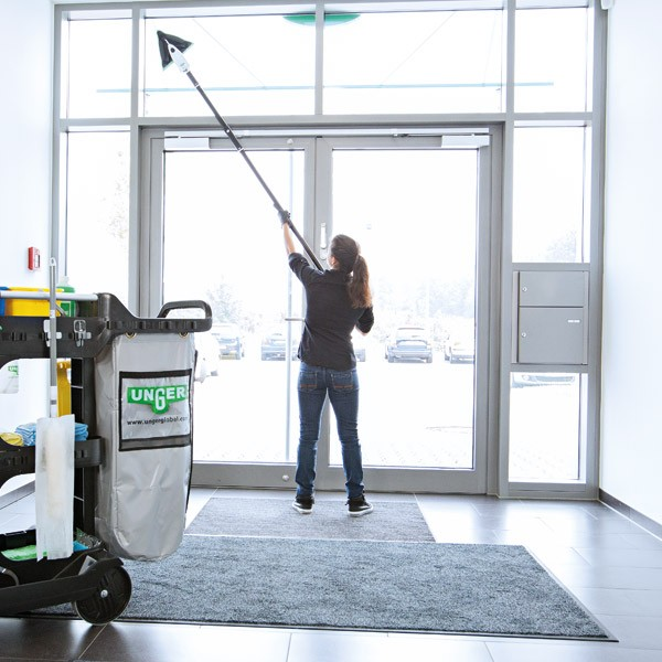 Unger Stingray Handheld Indoor Cleaning Kit