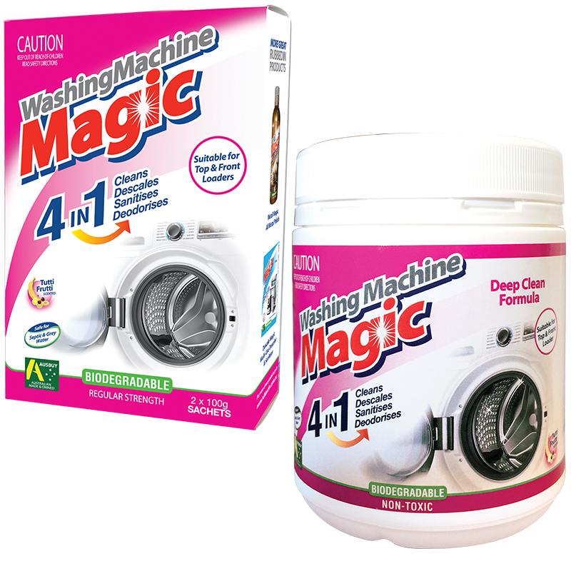 Washing Machine Magic 4 In 1 Washing Machine Cleaner