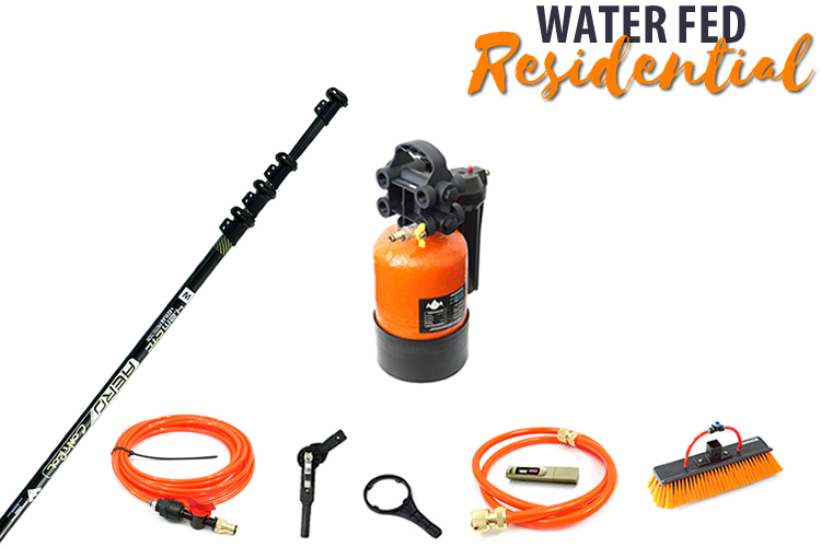 Residential Waterfed Pole And Water Treatment Complete Package