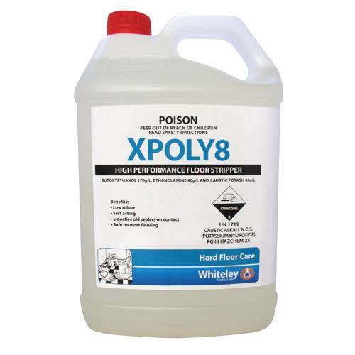 Xpoly8 High Performance Floor Stripper 5l