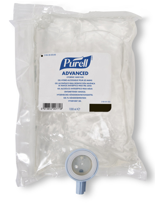 Purell 174 Nxt Instant Hand Sanitizer 1 Litre Bladder Bag