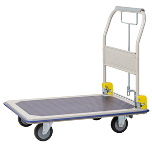 Steel Platform Truck With Hand Brake 370kg Capacity Cxhb