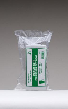 epi biodegradable kitchen tidy bin liner medium 27l 1000. Black Bedroom Furniture Sets. Home Design Ideas