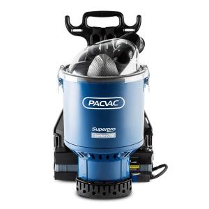 T Pacvac Backpack Vacuum Superpro Battery