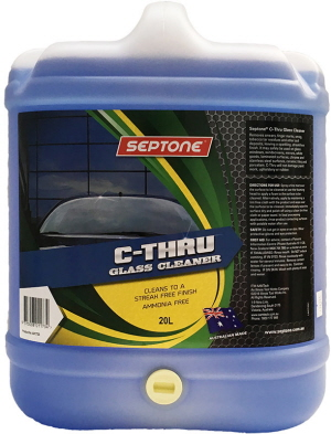 Septone C Thru Window And Glass Cleaner