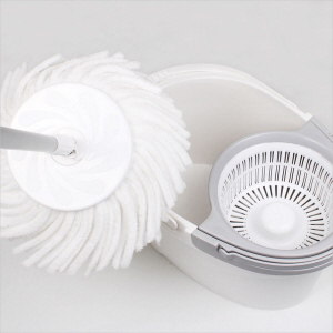 White Magic Hand Press Pure Spin Mop