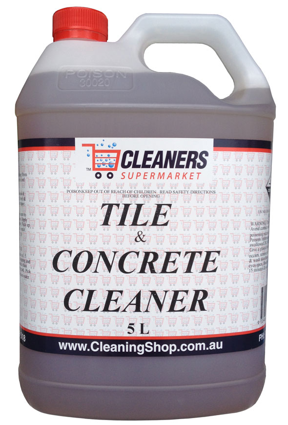 Tile and concrete cleaners heavy duty cleaners for How to clean unsealed grout